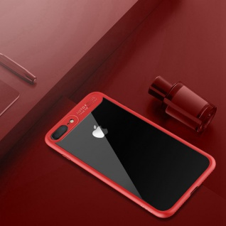 Original ROCK Bumper Case für Apple iPhone 7 Plus / 8 Plus Tasche Hülle Etui Rot