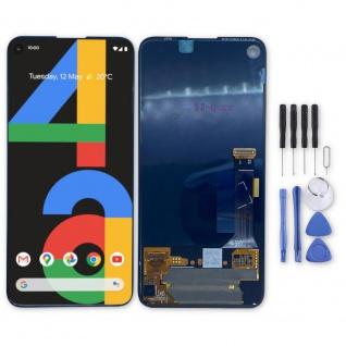 Für Google Pixel 4a Display Full OLED LCD Touch Screen Ersatz Reparatur Schwarz