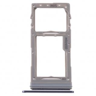 Sim Karten Halter für Samsung Galaxy Note 10 Lite Schwarz Micro SD Card Tray
