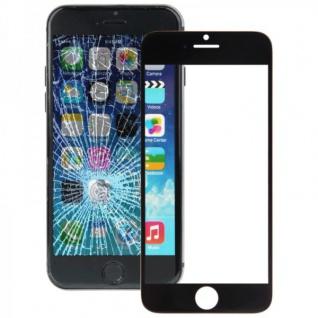 Displayglas Glas Schwarz für Apple iPhone 6 Plus 5.5 Zubehör + Werkzeug Opening