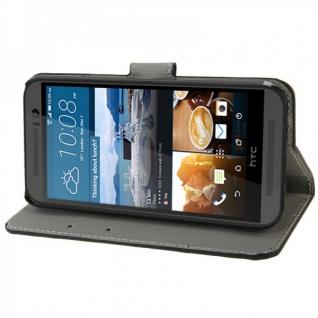 Schutzhülle Muster 4 für HTC One 3 M9 2015 Tasche Cover Case Hülle Etui Schutz - Vorschau 3