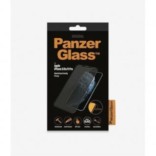 PanzerGlass Apple iPhone X / XS / 11 Pro Hart Glas Case Friendly Privacy Schwarz