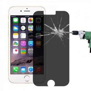 Privacy 0, 3 mm H9 Panzerglas Tempered Glas Folie für Apple iPhone 6 4.7 Schutz