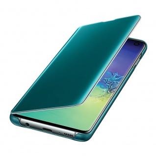 Samsung Flip Tasche Clear View EF-ZG973CGEGWW für Galaxy S10 G973F Cover Grün - Vorschau 4