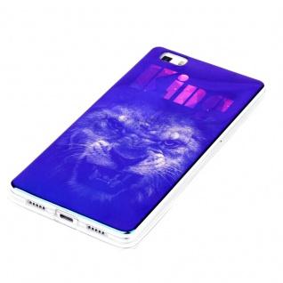 Silikoncase TPU Motiv 91 Hülle für Huawei P8 Lite Tasche Cover Tasche Cover Neu