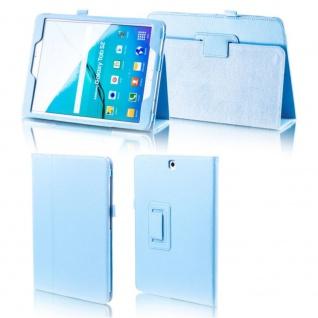Schutzhülle Hellblau Tasche für Samsung Galaxy Tab S3 9.7 T820 / T825 Hülle Case