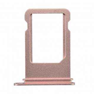 Nano Sim Karten Halter Adapter Sim Card Tray für Apple iPhone 7 & 7 Plus Rose