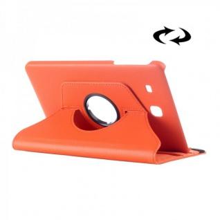 Schutzhülle 360 Grad Orange Tasche für Samsung Galaxy Tab E 9.6 SM T560 T561 Neu