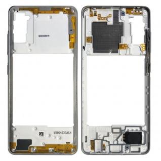 Samsung Mittelrahmen Back Housing Gehäuse für Galaxy A41 A415F Silber