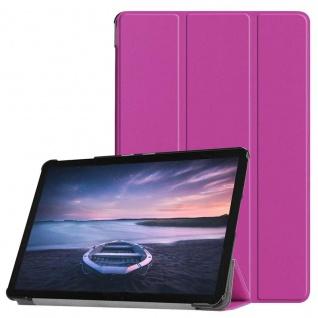 Smart Cover Lila Tasche für Samsung Galaxy Tab S4 10.5 T830 T835 Hülle Wake Up