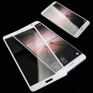 3D Full Hart Glas 0, 26 mm dünne H9 Weiß für Huawei New P8 Lite 2017 Schutz Hülle