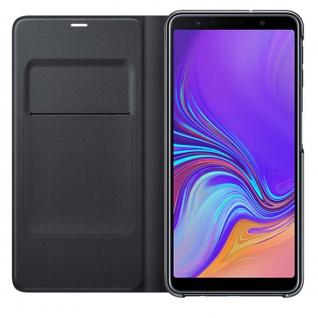 Samsung Wallet Cover Hülle EF-WA750PBEG Galaxy A7 2018 A750F Schutzhülle Schwarz - Vorschau 5