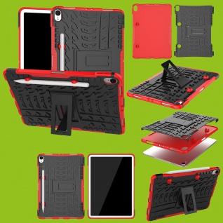 Für Apple iPad Pro 11.0 Zoll 2018 Hybrid Outdoor Case Rot Tasche Cover Hülle Neu