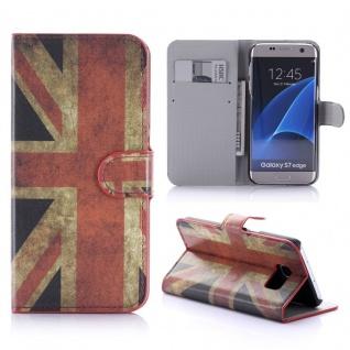 Schutzhülle Muster 9 für Samsung Galaxy S7 Edge G935F Tasche Cover Case Hülle