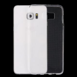 Silikonhülle dünn Transparent für Samsung Galaxy S6 Edge Plus G928F Tasche Case