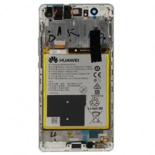Huawei Display LCD Einheit Rahmen für P9 Lite Full Service Pack 02350SLF Weiß - Vorschau 3
