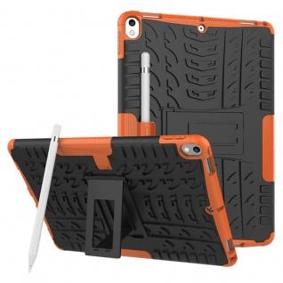 Hybrid Outdoor Schutzhülle Cover Orange für Apple iPad Pro 10.5 2017 Tasche Case