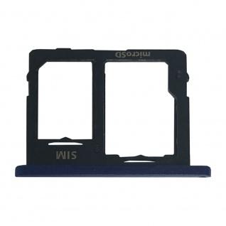 Card Tray Sim Karten Halter für Samsung Galaxy Tab A 10.5 T590 Blau Ersatzteil