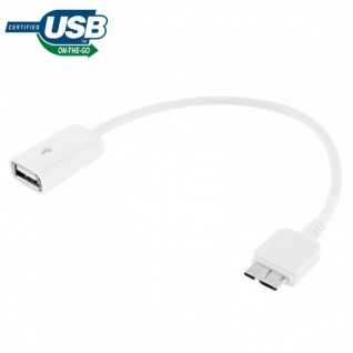 USB 3.0 OTG Connector für Samsung Galaxy Note 3 N9000 N9005 LTE Adapter Kabel