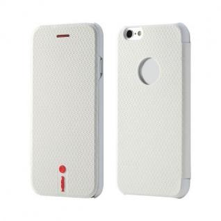 Original ROCK NFC Smartcover Weiss für Apple iPhone 6 4.7 Cover Hülle Case Neu