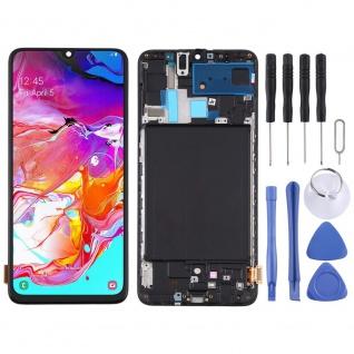 Für Samsung Galaxy A70 A705F Display TFT LCD + Rahmen Touch Ersatzteil Schwarz - Vorschau 5