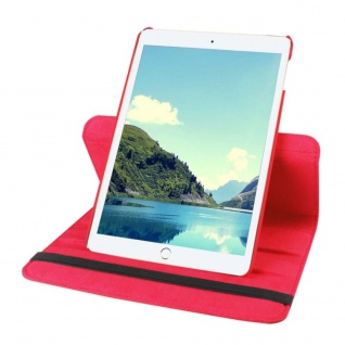 Schutzhülle 360 Grad Rot Tasche für Apple iPad Pro 9.7 Zoll Hülle Case Etui Neu