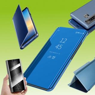 Für Sony Xperia 5 II 2. Gen View Smart Cover Blau Handy Tasche Etuis Wake UP Neu