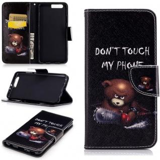 Schutzhülle Muster 27 für Huawei P10 Lite Bookcover Tasche Case Hülle Wallet Neu