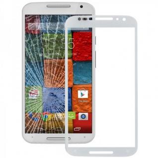 Displayglas Glas Weis für Motorola Moto X 2. Gen 2014 Zubehör Reparatur KIT