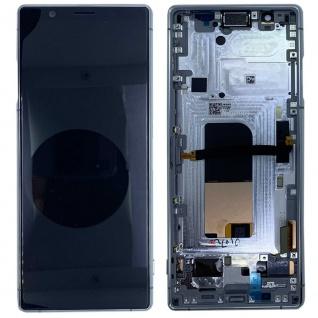 Sony Display LCD für 1319-9455 Xperia 5 J8210 J9210 Reparatur Ersatzteil Grau