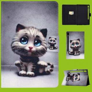Für Lenovo Tab M10 Plus 10.3 Zoll X606F Motiv 56 Tasche Kunst Leder Hülle Etuis