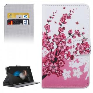 Schutzhülle Muster 6 für Huawei G8 5.5 Zoll Bookcover Tasche Case Hülle Wallet
