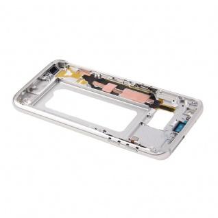 Gehäuse Rahmen Deckel kompatibel Samsung Galaxy S7 G930 G930F Kleber Silber - Vorschau 4