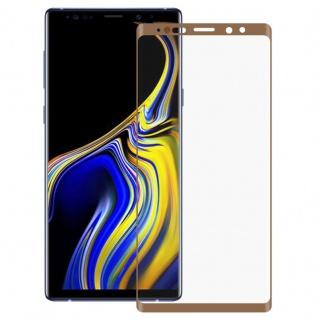 Hybrid TPU gebogene Panzer Folie Gold Schutz für Samsung Galaxy Note 9 N960F Neu