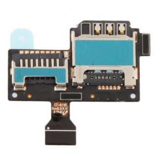 Samsung Galaxy S4 Mini I9190 I9195 Sim Micro SD Kartenleser Simschacht Halter