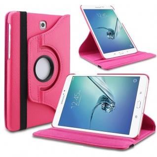 Schutzhülle 360 Grad Pink Tasche für Samsung Galaxy Tab S3 9.7 T820 T825 Case