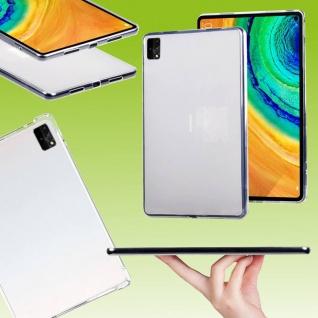 Für Huawei MatePad Pro 12.6 2021 Transparent Tablet Tasche Hülle TPU Silikon Neu