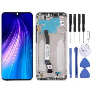 Für Xiaomi Redmi Note 8 Display LCD Einheit Touch Screen Reparatur Silber Ersatz