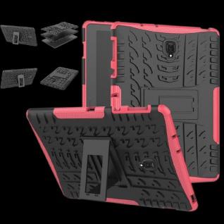 Für Huawei MediaPad T5 10.1 Zoll Hybrid Outdoor Case Pink Tasche Cover Hülle Neu