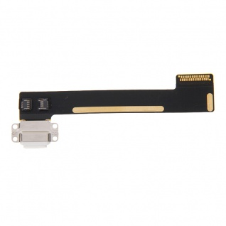 Dock Connector f. Apple iPad Mini 4 Ladebuchse Flex Kabel 8 Pin Dock Buchse Weiß - Vorschau 2