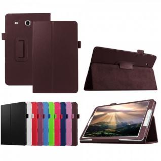 Schutzhülle Weinrot Tasche für Samsung Galaxy Tab E 9.6 SM T560 T561 Hülle Case