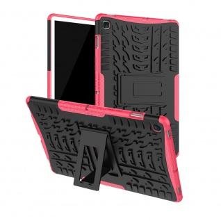 Für Samsung Galaxy Tab S5e 10.5 T720F Outdoor Hybrid Pink Tasche Etuis Hülle Neu