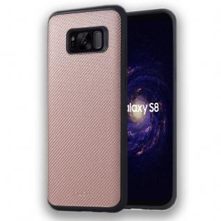 Original ROCK Hybrid Case Tasche Kupfer für Samsung Galaxy S8 Plus G955F Hülle