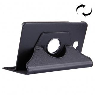 Schutzhülle 360 Grad Schwarz Tasche für Samsung Galaxy Tab A 10.1 T580 / T585