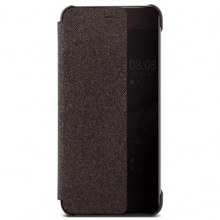 Huawei Smart Cover Schutzhülle Hülle Tasche für Huawei P10 Plus Case braun