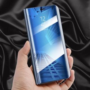 Clear View Spiegel Mirror Smart Cover für Smartphones Schutzhülle Tasche Case - Vorschau 4