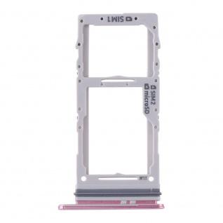 Dual Sim / Micro SD Karten Halter für Samsung Galaxy S20 Plus/S20 Ultra Pink