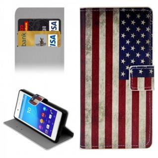 Schutzhülle Muster 10 für Sony Xperia Z3 Plus E6553 Bookcover Tasche Hülle Case