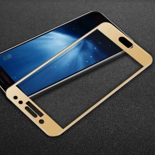 3D Full Hart Glas 0, 26 mm dünne H9 Gold für Samsung Galaxy J3 2017 Schutz Hülle