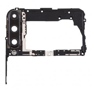 Motherboard Rahmen für Huawei P40 Lite E Schwarz Bezel Frame Ersatzteil Zubehör